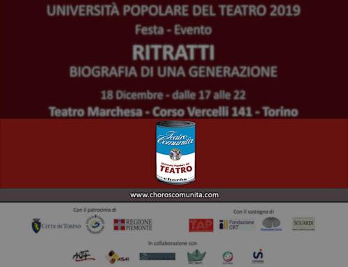 RITRATTI – Anteprima del Progetto a Teatro Marchesa – Festa Evento