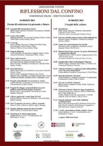 thumbnail of Riflessioni dal confino – Programma