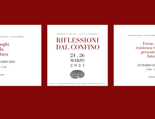 Riflessioni dal confino – Seminario online